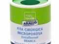 Fita Microporosa Araujo 5,0cm X 4,5 Branca
