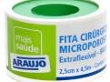 Fita Microporosa Araujo 2,5cm X 4,5 Branca