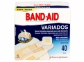 Curativos Band Aid Johnson & Johnson Variados com 40 Unidades