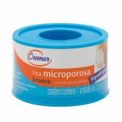 Esparadrapo Cremer Microporoso Branco 2,5cm x 4,5m com 1 Unidade