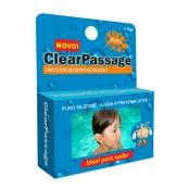 Protetor de Ouvido ClearPassage Kids Silicone com 1 Par