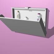 Trocador para Bebe Fixar na Parede Modelo Ultra Clean Horizontal