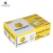 Luva de Procedimento PP Descarpack - Cx 100 Un