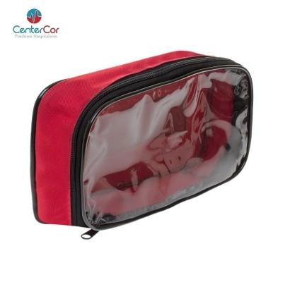 Bolsa para Kit Primeiros Socorros - Vermelha