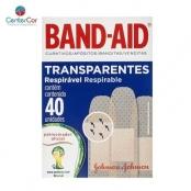 Band - Aid Transparente 40 Un.