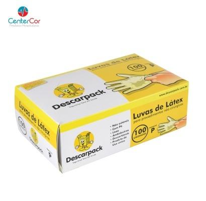 Luva de Procedimento P Descarpack - Cx 100 Un