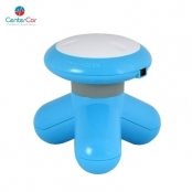 Mini Massageador com USB - Azul