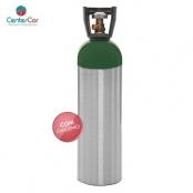 Cilindro de Oxigênio 10 Litros Alumínio (COM CARGA)
