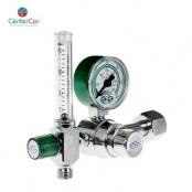 Válvula Reguladora para Cilindro com Fluxometro Oxigênio - (Unitec)