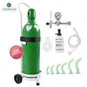 Kit de Oxigênio de 20 litros Aço (COM CARGA)