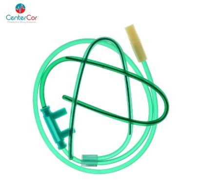 Cateter Tipo Óculos - Verde