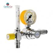 Válvula Reguladora para Cilindro com Fluxômetro Ar Comprimido