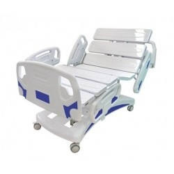 Cama Fowler Hospitalar Motorizada 8 Movimentos Extra Luxo