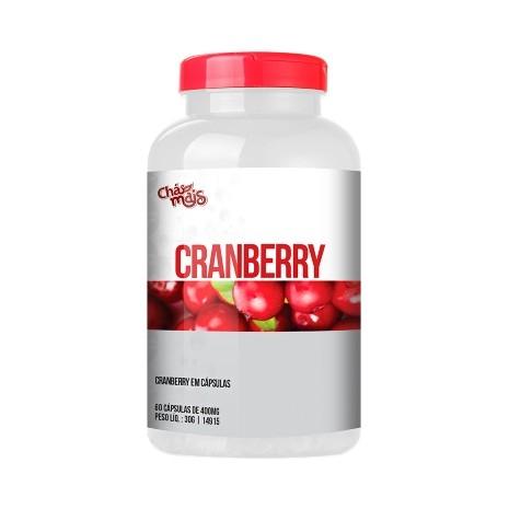 Cranberry 400mg Chá Mais com 60 Cápsulas