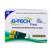 G-Tech Free 1 Tira Teste com 50 Unidades