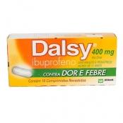 Dalsy 400mg Comprimidos Dalsy 400mg com 10 Comprimidos