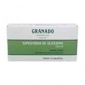Supositório de Glicerina Granado Adulto com 12 Unidades