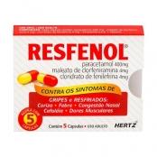 Resfenol Cápsulas com 5 Unidades