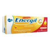 Energil C 1g Comprimidos Efervescentes com 10 Unidades Sabor Laranja