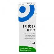 Hyabak Solução Oftalmica 10ml