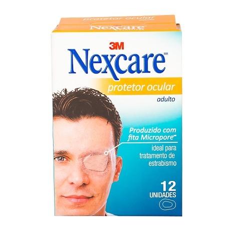 Protetor Ocular Nexcare Adulto com 12 Unidades