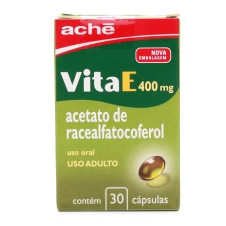 Vita E 400mg com 30 Cápsulas