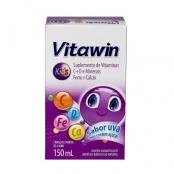 Vitawin Kids Solução com 150ml Sabor Uva