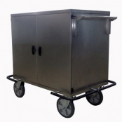 Carrinho para roupas limpas em aço inox  CM2650
