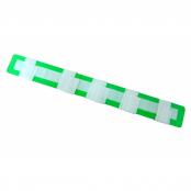 Tala Moldável Aramada em EVA com Velcro Tamanho G Verde