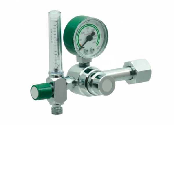 Válvula Reguladora para Cilindro com Fluxômetro de Oxigênio