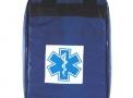 Bolsa Azul Vazia para Ampola