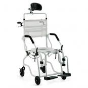Cadeira de Banho Alumínio Reclinável