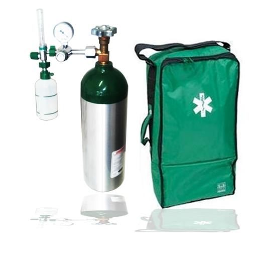 Kit Portátil de Oxigênio Completo