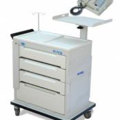 Cardioversor MDF-03B e Carro de Emergência Cp1000