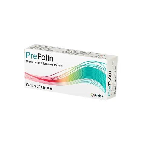 PreFolin com 30 Cápsulas