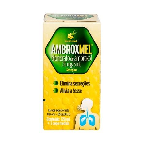Ambroxmel 30mg/5ml Xarope Adulto com 120ml