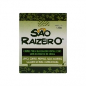 São Raizeiro Creme para Massagem com Extratos de Ervas com 135g