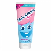 Gel Dental Infantil Malvatrikids Baby sem Flúor com Xilitol 70g