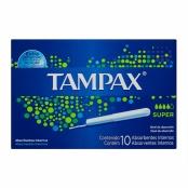 Absorvente Interno Tampax Super com Aplicador com 10 Unidades