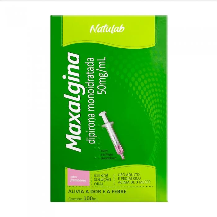 Maxalgina 50mg/ml Solução Oral com 100ml + Seringa Dosadora