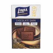 Chocolate Linea Sucralose Zero Açúcar Meio Amargo com 30g