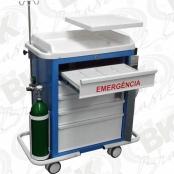 CARRO DE EMERGÊNCIA 05 GAVETAS - CA | BKCE 011