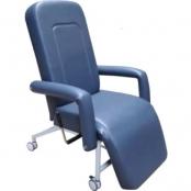 Cadeira Hospitalar Reclinável à Gás Com Rodízio