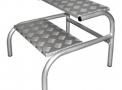 Escada Hospitalar Para Ressonância Magnetica MBKES 004-R BK Brasil