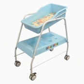 Berco Para Bercário Soft Baby Azul Berço Para Berçário Soft Baby Azul
