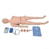 Manequim Avançado para Cuidados Geriátricos Masculino com Órgãos Internos Sdorf