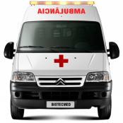 Transformação Citroen Jumper em Ambulância UTI Móvel