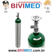 Cilindro de Oxigênio 5 Litros Alumínio Sem Carga