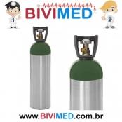 Cilindro de Oxigênio 10 Litros Alumínio Sem Carga