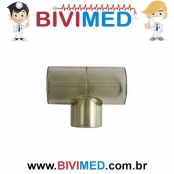 CONECTOR T 22 EXT X 15 INT 27 EXT X 22 INT AUTOCLAVÁVEL